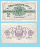 BERMUDA 5 SHILLINGS 1935 - Copy- Replica - Bermudes