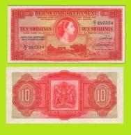 BERMUDA 10 SHILLINGS 1952 - Copy- Replica - Bermudes