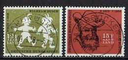 Saarland 1958 // Mi. 429/430 O (023..124) - Used Stamps