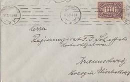 DR Brief EF Minr.247 Plf.II Charlottenburg 17.5.23 Geprüft - Deutschland