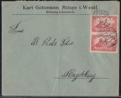 DR Brief Mef Minr.2x A113 Milspe 27.1.22 - Deutschland
