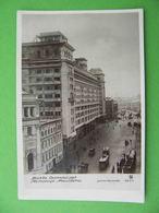 MOSCOW 1930x Okhotny Riad Street, Hotel. Russian Photo Postcard - Russie