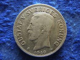 SWEDEN 2 KRONOR 1910, KM787 - Suède