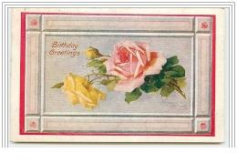 C. Klein - Birthday Greetings - Roses - Klein, Catharina