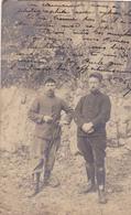 38  GRENOBLE. MILITARIA. FORT RABOT( ENVOYÉ DU) .2 SOLDATS .ANNEE 1916 + TEXTE - Personnages