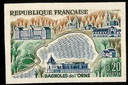 YVERT 1293 BAGNOLES DE L'ORNE - NON DENTELÉ, - France