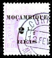 !■■■■■ds■■ Mozambique 1898 AF#51cø Local Surcharge 2,5 Rs TYPE II (x5737) - Mozambique