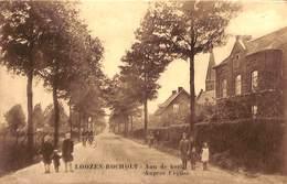 Loozen - Bocholt - Aan De Kerk - Auprès De L'Eglise (animation, Edit. Jos. Leyssen-Gautier) - Bocholt