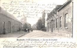 Bocholt - De Poststraat - La Rue De La Poste (animatie, D. Hendrix, 1905) - Bocholt