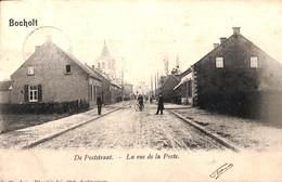 Bocholt - De Poststraat - La Rue De La Poste (animatie, D. Hendrix, 1904) - Bocholt