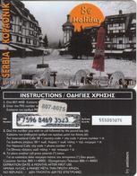 GREECE - Coca Cola, Serbia/Kopaonik, Amimex Prepaid Card 8 Euro(807 8075), Tirage %10000, Used - Greece