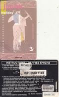 GREECE - Olympian Gods/Jupiter, Amimex Prepaid Card 3 Euro(807 8075), Tirage %2000, 01/04, Used - Greece