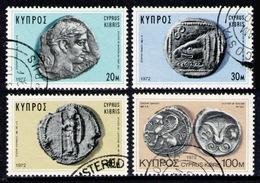 CYPRUS 1972 - Set Used - Cyprus (Republic)