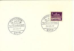 Germany Berlin Postcard Puttgarden Tor Zum Norden 20-1-1965 - [5] Berlin