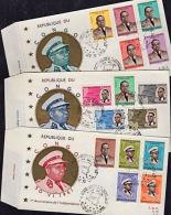 Cd0012 CONGO (Kinshasa) 1961, SG 417-31 1st Anniv Independence,  FDC - Republic Of Congo (1960-64)