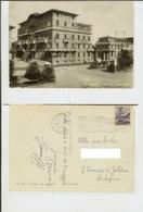 Viareggio (Lucca): Albergo Imperiale. Cartolina FG B/n Lucido Vg 1950 (auto) - Viareggio