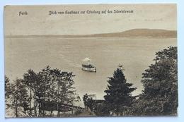 Blick Vom Gasthaus Zur Erholung Auf Den Schwielowsee, Ferch, Deutschland Germany - Schwielowsee