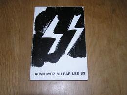 AUSCHWITZ VU PAR LES SS Guerre 1940 1945 Camps Concentration Nazis Extermination Juifs Déportation - Guerra 1939-45
