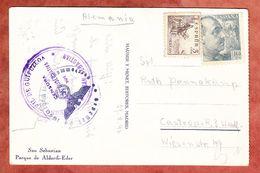 AK San Sebastian, MiF Franco U.a., Nach Castrop-Rauxel, Zensur 1940 (51599) - 1931-Oggi: 2. Rep. - ... Juan Carlos I