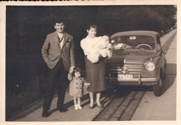 Fotokaart Carte Photo Old Timer Oldtimer Fiat 500 ? - Automobili