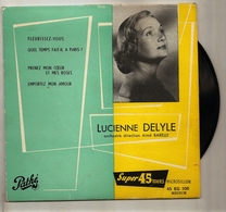 LUCIENNE DELYLE  45 TOURS  PATHE - Classical