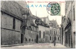 21 BEAUNE - L'entrée De L'hotel Dieu - La Caisse D'Epargne - Beaune