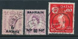 BAHRAIN, Postmarks BAHRAIN, WALI, DOHA - Bahrein (...-1965)