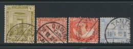 EGYPT, Postmarks BHAB EL KHALQ, DUMIAT, MUHARRAH BEY, TANTA - 1915-1921 Brits Protectoraat