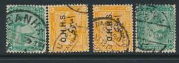 EGYPT, Postmarks BANHA, BULAQ, BHAB EL KHALQ, ALEXANDRIA - Egypte