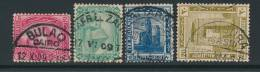 EGYPT, Postmarks BULAQ, KAFR EL ZAIYAT, ATTARIN, MANSURA - 1915-1921 Brits Protectoraat