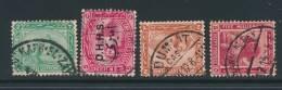 EGYPT, Postmarks KAFR EL ZAIYAT, DAWAWIN, DUMIAT, MUHARRAH BEY - Egypte