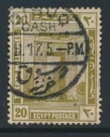 EGYPT, Postmark DISUQ - Egypte
