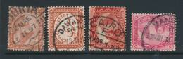 EGYPT, Postmarks CHOURIA CAIRO, DAWAWIN, CAIRO, MANSURA - Egypte