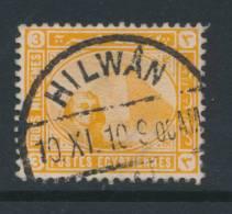 EGYPT, Postmark HILWAN - 1915-1921 Brits Protectoraat