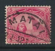 EGYPT, Postmark MATAI - Egypte