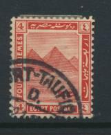 EGYPT, Postmark PORT TAUFIQ - 1915-1921 Brits Protectoraat