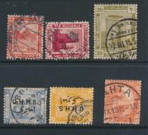 EGYPT, Six Postmarks - Egypte