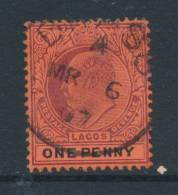 LAGOS, Postmark BRASSO - Nigeria (...-1960)