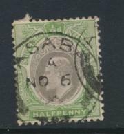 SOUTHERN NIGERIA, Postmark ASABA - Nigeria (...-1960)
