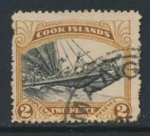 COOK ISLANDS, Postmark MANGA - Cookeilanden