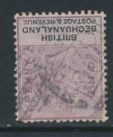 BECHUANALAND, Postmark BARRED NUMERAL 638 - Bechuanaland (...-1966)