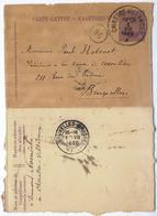 C2575-Belgium-PS Letter Sheet From Chastre-Villeroux To Brussels-1920 - Postwaardestukken