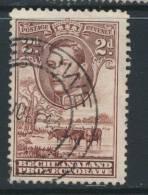BECHUANALAND, Postmark SEROWE - Bechuanaland (...-1966)