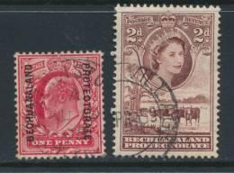 BECHUANALAND, Postmarks FRANCISTOWN, VILLAGE - Bechuanaland (...-1966)