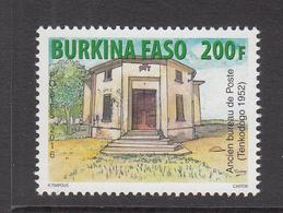 2016 Burkina Faso Old Post Office Bureau Du Poste   Complete Set Of 1   MNH - Burkina Faso (1984-...)