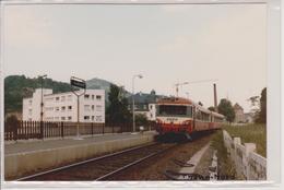 68 - THANN - PHOTO TRAIN - LIGNE MULHOUSE A KRUTH - Thann