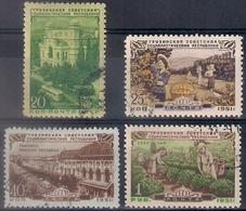 Russia 1951, Michel Nr 1548-51, Used - 1923-1991 USSR