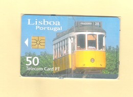 """PHONECARD - PORTUGAL  """"TRAM - LISBOA 2001"""" PT339  - LOW ISSUE - MINT/SEALED - Portugal"""