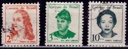 Brazil, 1967-69, Notables, Sc#1037,1038,1041, Used - Brazil