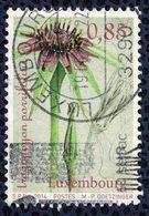 Luxembourg 2014 Oblitéré Rond Used Plante Tragopogon Porrifolius Salsifis Cultivé - Lussemburgo